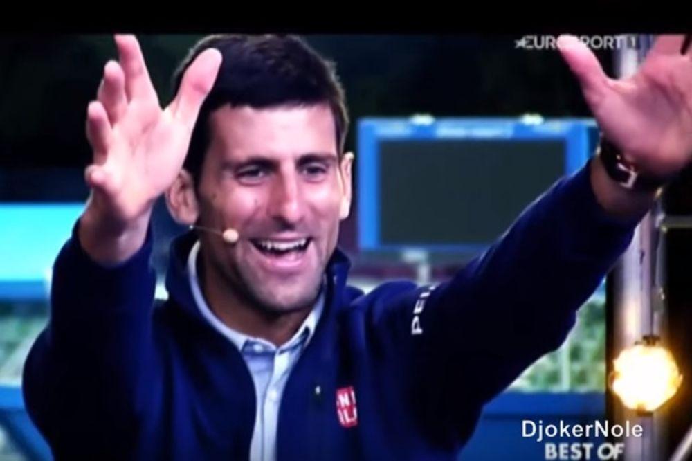 (VIDEO) PRESLATKO: Ovako je Novak reagovao kada je video kako sin Stefan navija za njega