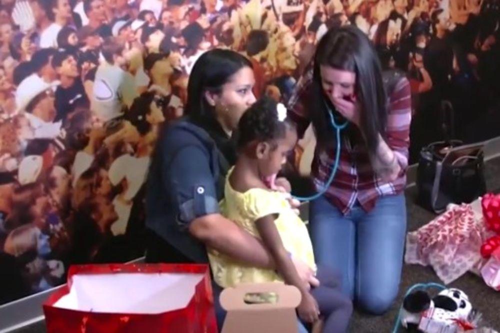 (VIDEO) POTRESNO: Srce preminulog sina donirala je devojčici,evo kako je izgledao njihov prvi susret