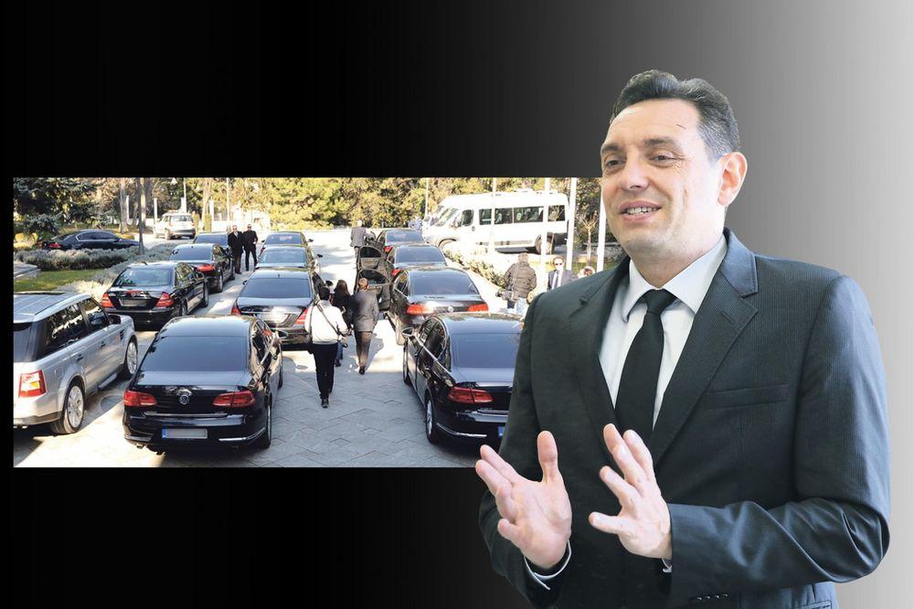 BEZOBRAZLUK: Vulin baca 580.000 na pranje kola!