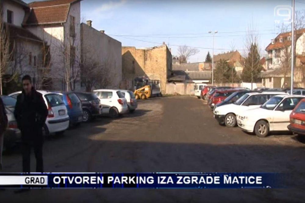 (FOTO I VIDEO) ČIME SE HVALE? Svečano otvoren zemljani parking u Novom Sadu
