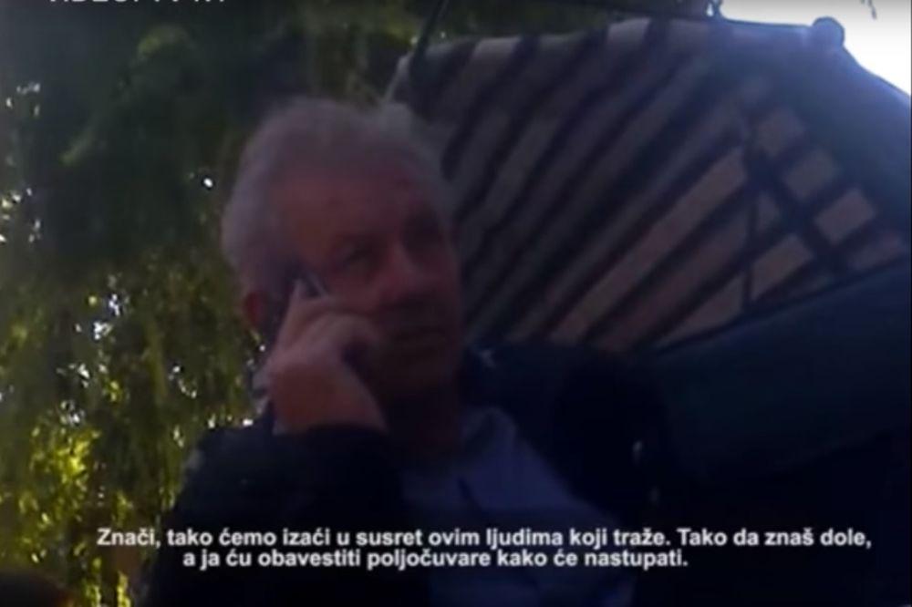 (VIDEO) TAJNI SNIMAK PAORA I POVERENIKA SNS: Ovako se sklapaju nelegalni dilovi?