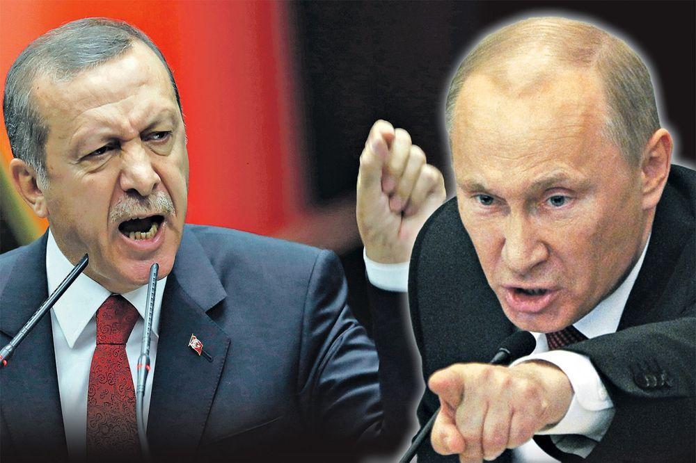 NEĆE BITI MIRA IZMEĐU MOSKVE I ANKARE: Zašto su Rusija i Turska prirodni neprijatelji