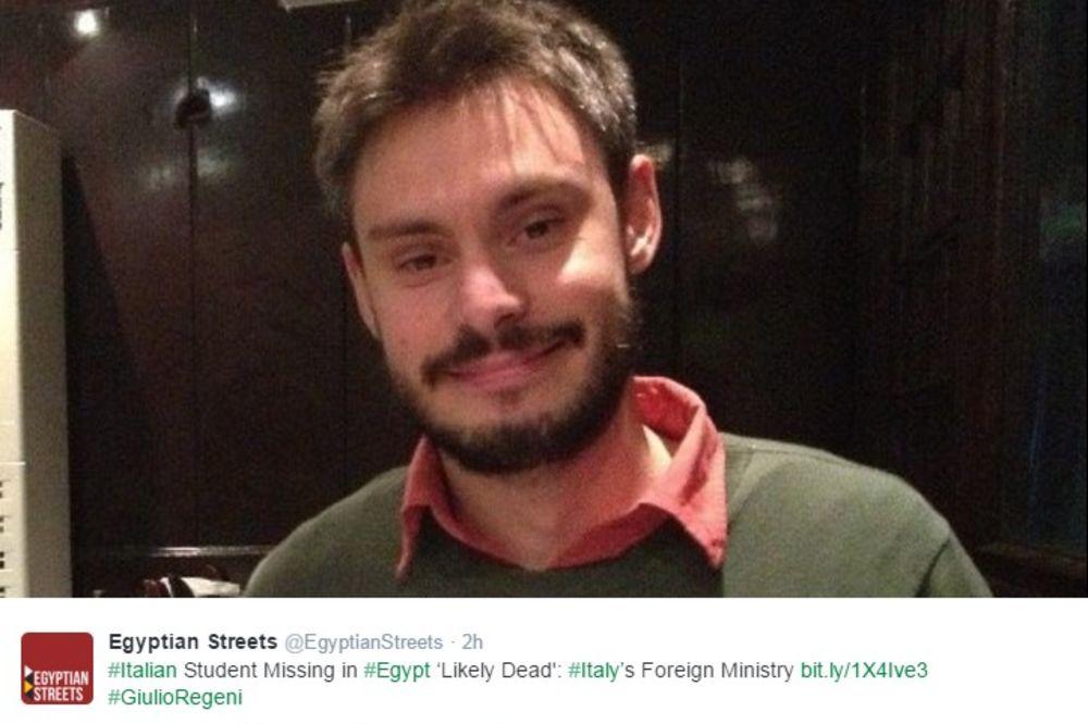 NAŠLI GA SPALJENOG: Telo italijanskog studenta pronađeno kraj puta u Kairu