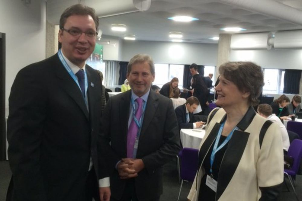 KONFERENCIJA O SIRIJI: Vučić sa svetskim donatorima u kongresnom centru u Londonu