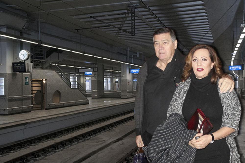 HIT MESTO ZA IZLAZAK: Mrka vodio Anu Bekutu u Prokop!