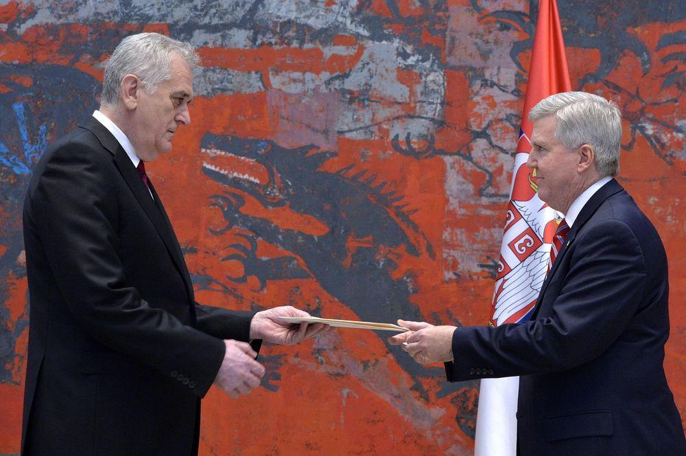 STIGAO NOVI AMERIČKI AMBASADOR: Skot predao Nikoliću akreditive