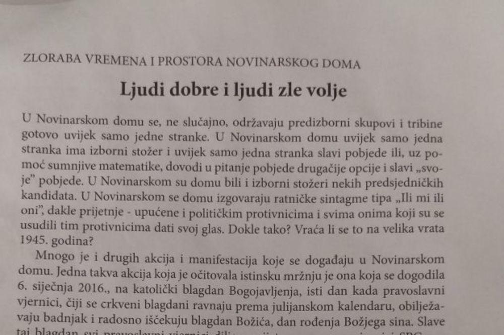 OPASNO: Leci protiv Srba zatrpali Zagreb!