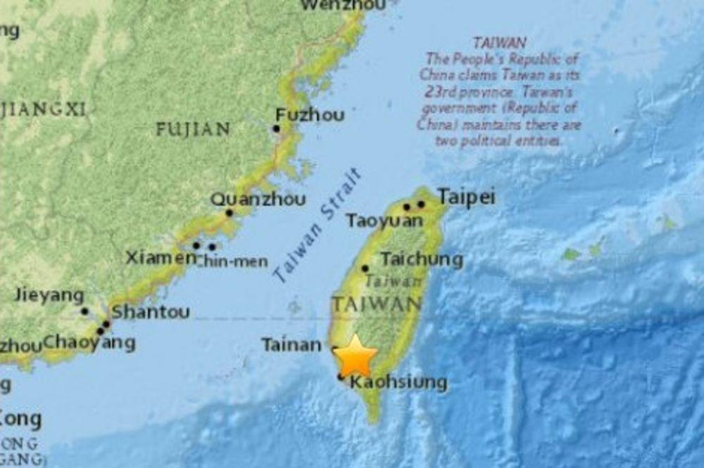 SNAŽAN POTRES: Zemljotres jačine 6,7 stepeni Rihtera pogodio Tajvan!