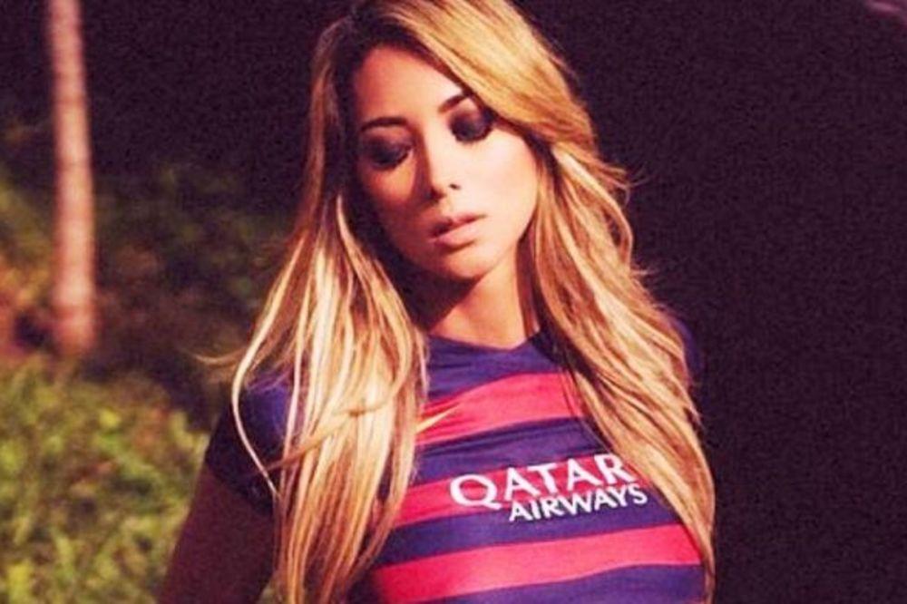 (FOTO) ZAPALILA DRUŠTVENE MREŽE: Livija je najatraktivnija navijačica Barselone. Pogledajte zašto!