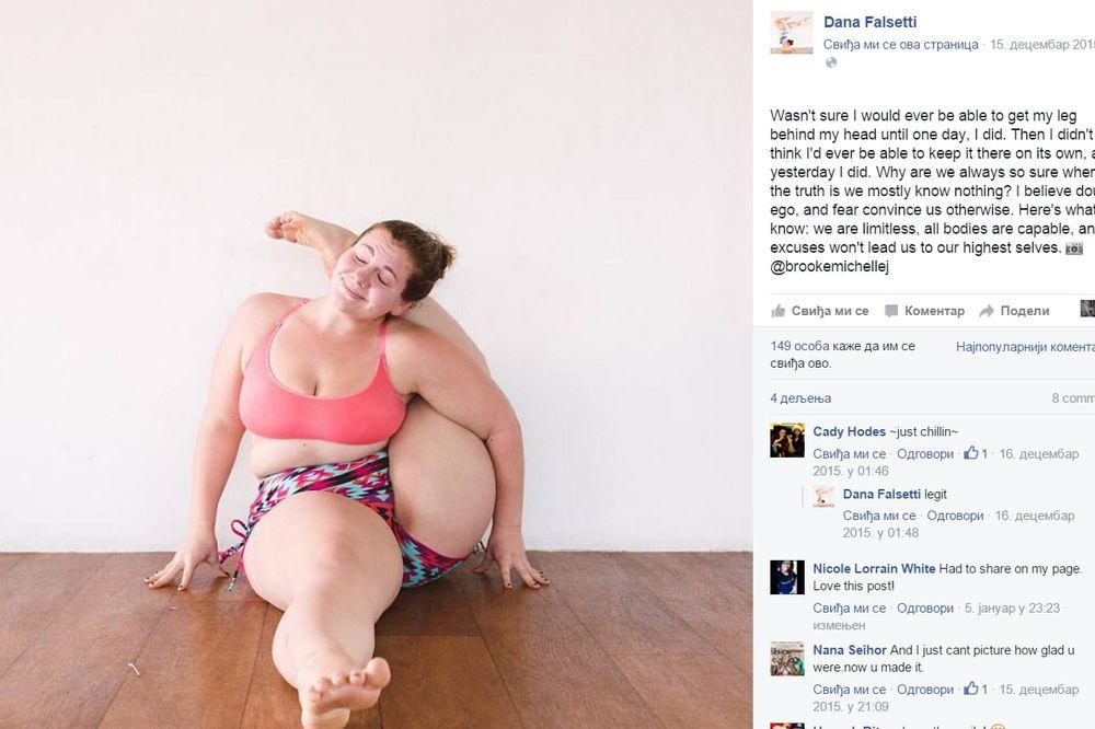 (FOTO) KO LOPTICA SKOČICA: Ima 100 kilograma, a stoj na glavi radi kao od šale!
