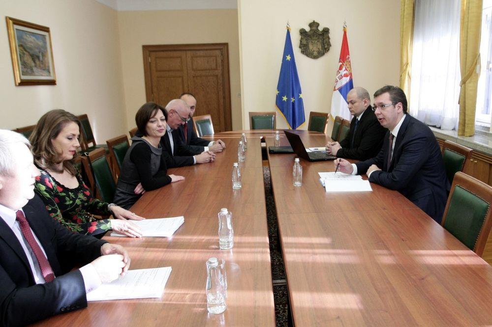Vučić sa sastao sa ombudsmanima