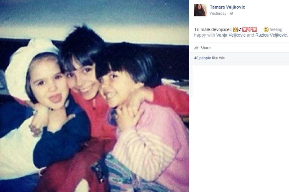 (FOTO) POGODITE KO JE NA SLICI? Jedna od ove 3 devojčice je danas skandalozna rijaliti zvezda