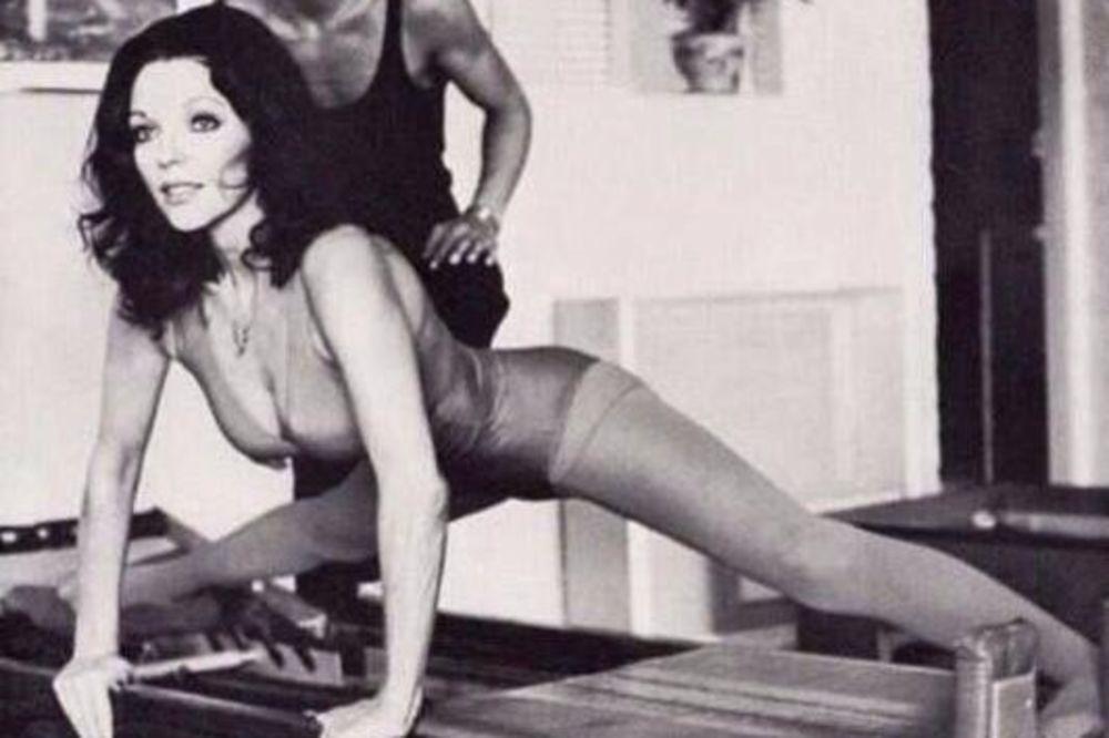 (FOTO) MAMILE SU UZDAHE MNOGIH: Evo kako su poznate dame 80-ih i 90-ih godina vežbale u teretani