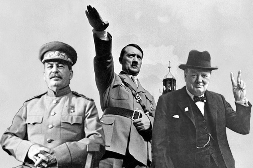 NEVEROVATNA TEORIJA: I Staljin i Hitler bili su špijuni Britanije?