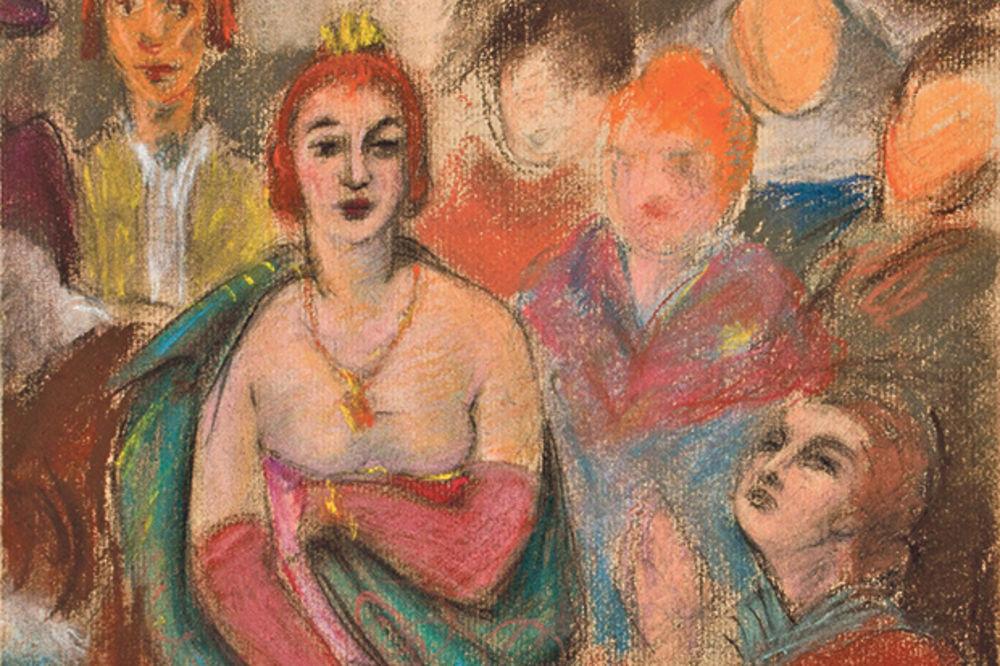 Narodni muzej: Izložba 54 crteža srpskih lepotica