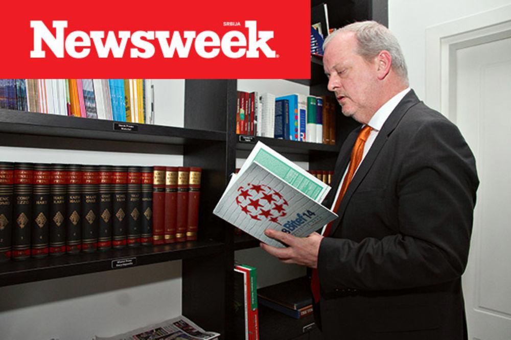 NOVI NEWSWEEK Holandski ambasador u Beogradu: Otvaranje poglavlja nije cilj sam po sebi