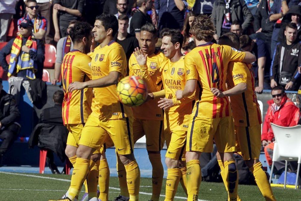 (VIDEO) ŠAMPION RUTINSKI: Barselona pobedila Levante i učvrstila se na vrhu tabele