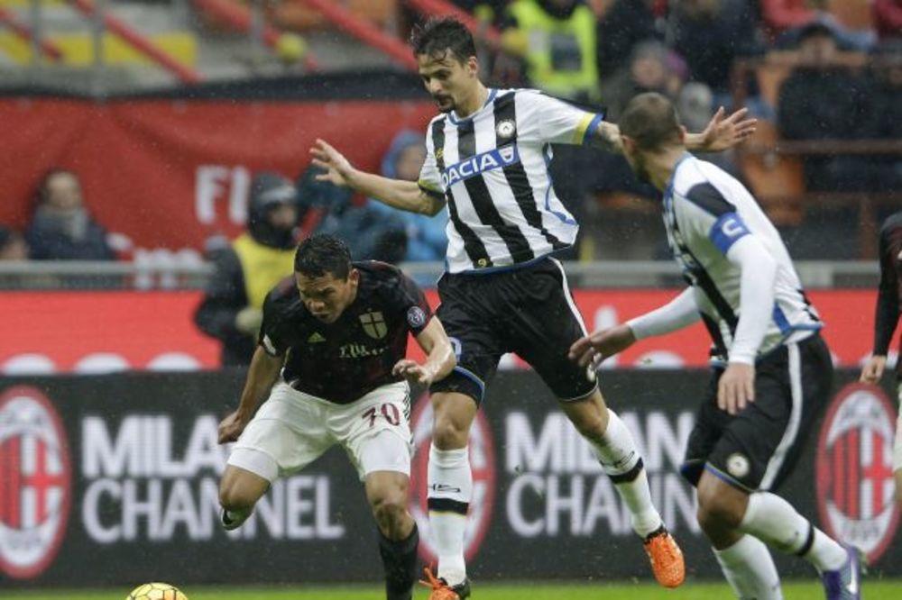 (VIDEO) CRNO-BELI ŠOKIRALI MIHAJLOVIĆA: Milan jedva izvukao bod na svom terenu protiv Udinezea