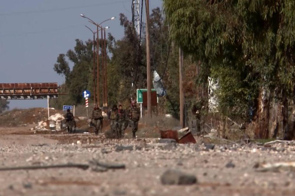 (VIDEO) SIRIJSKE SNAGE ČISTE SVE PRED SOBOM: Nusra front gubi u Alepu i Dari