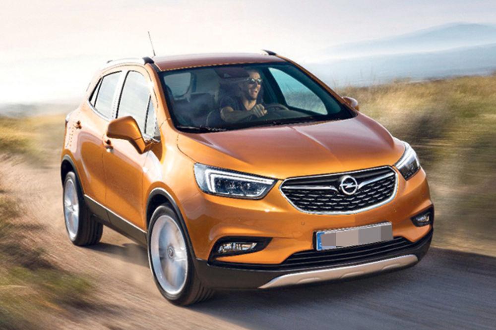 Opel Mokka X, foto Opel