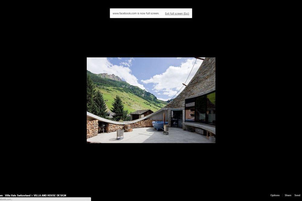 (FOTO) PRELEPI POGLED SA ALPA U ŠVAJCARSKOJ: Evo kako napraviti luksuzan dom od jazbine