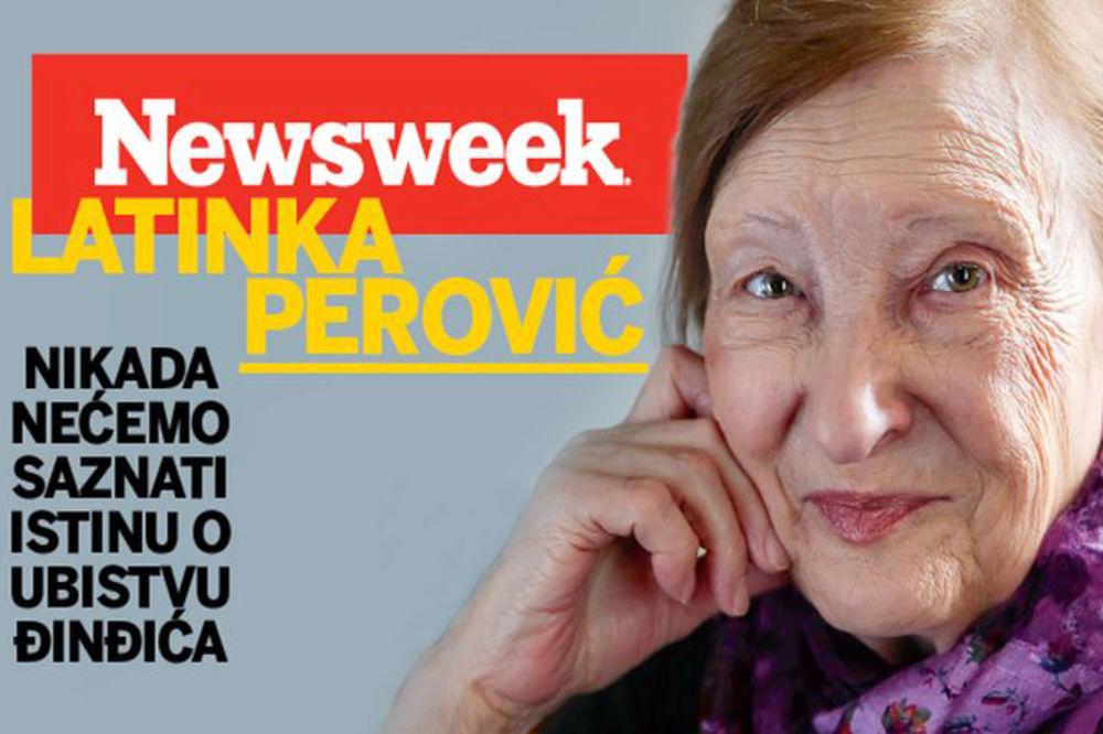 LATINKA PEROVIĆ ZA NOVI NEWSWEEK: Nikada nećemo saznati istinu o ubistvu Đinđića