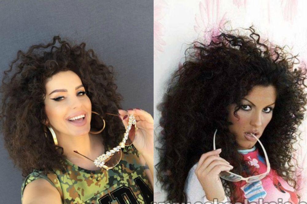 (FOTO) 12 GODINA KASNIJE: Seka Aleksić sa istom frizurom a boljim izgledom!
