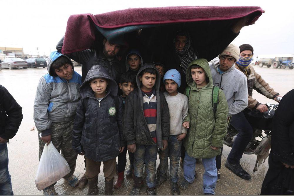 UNHCR: Malo verovatna velika koncentracija izbeglica u Srbiji