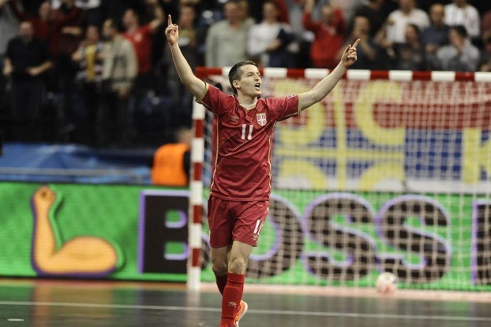 (VIDEO) ZLATNA LEVICA: Simić golom u poslednjoj sekundi odveo Srbiju u polufinale EP