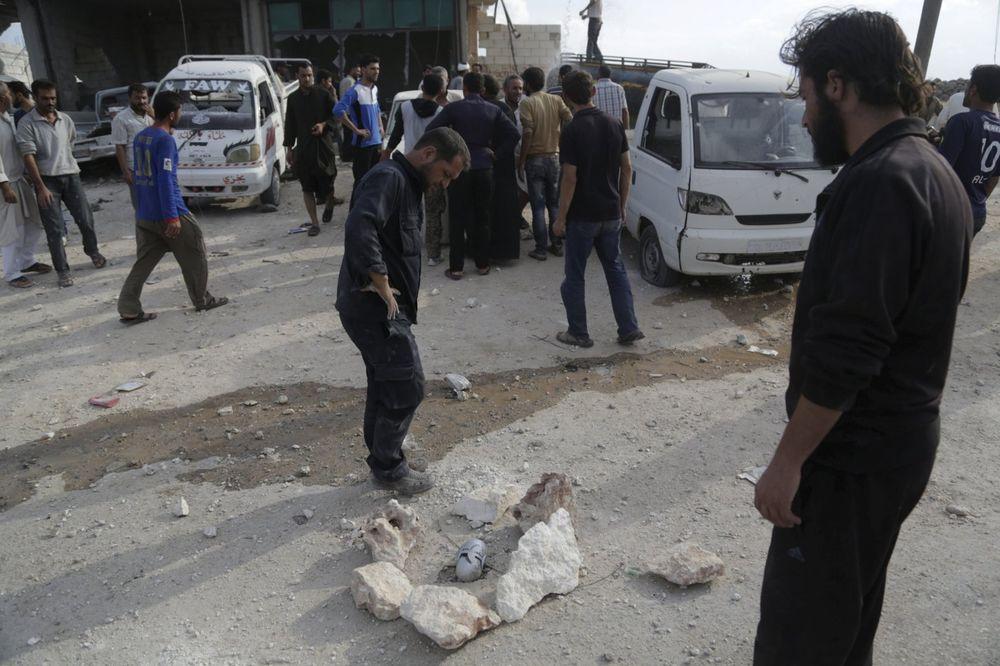 HJUMAN RAJTS VOČ OPTUŽUJE: Ruske i Asadove snage bacale su kasetne bombe po Siriji