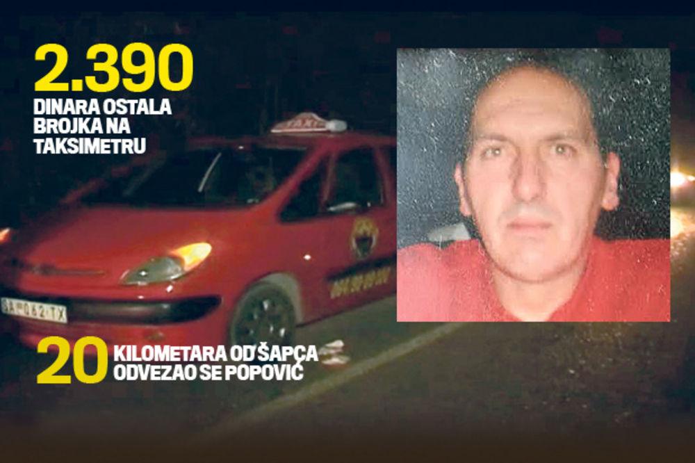 UHAPŠENE UBICE: Zaklali taksistu zbog računa od 2.390 dinara!