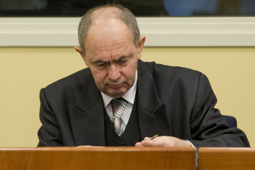 General Zdravko Tolimir, Foto AP 2012