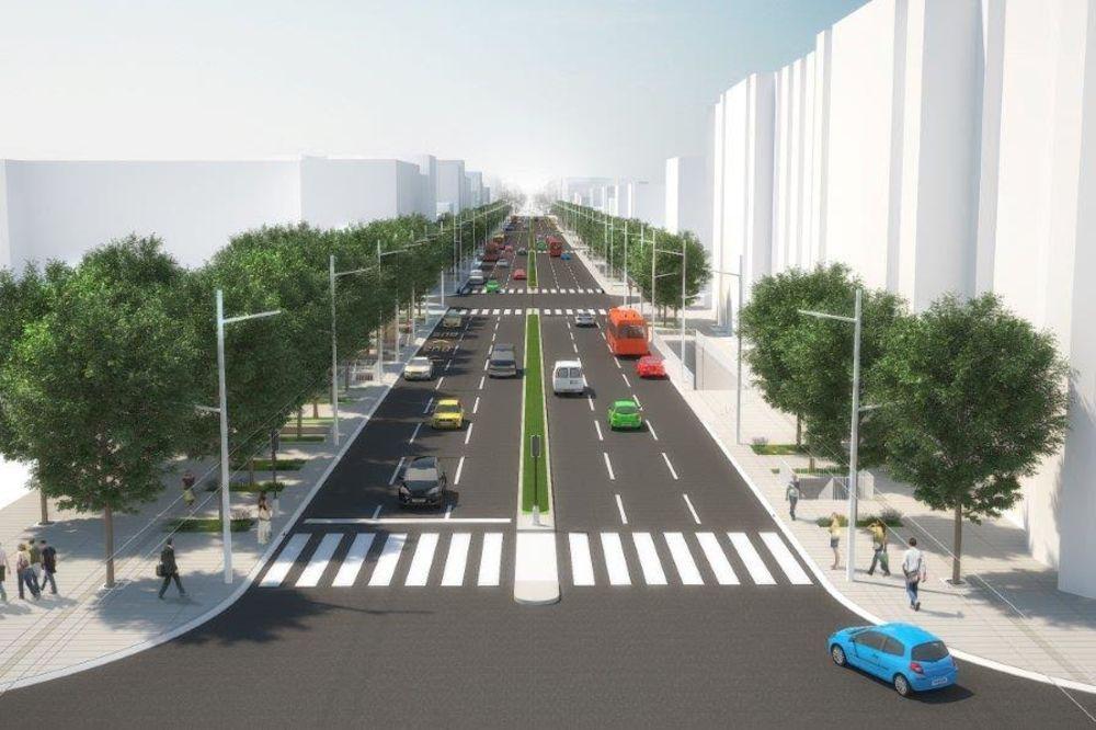 VESIĆ: Duž Ulice Kneza Miloša biće podzemni parking