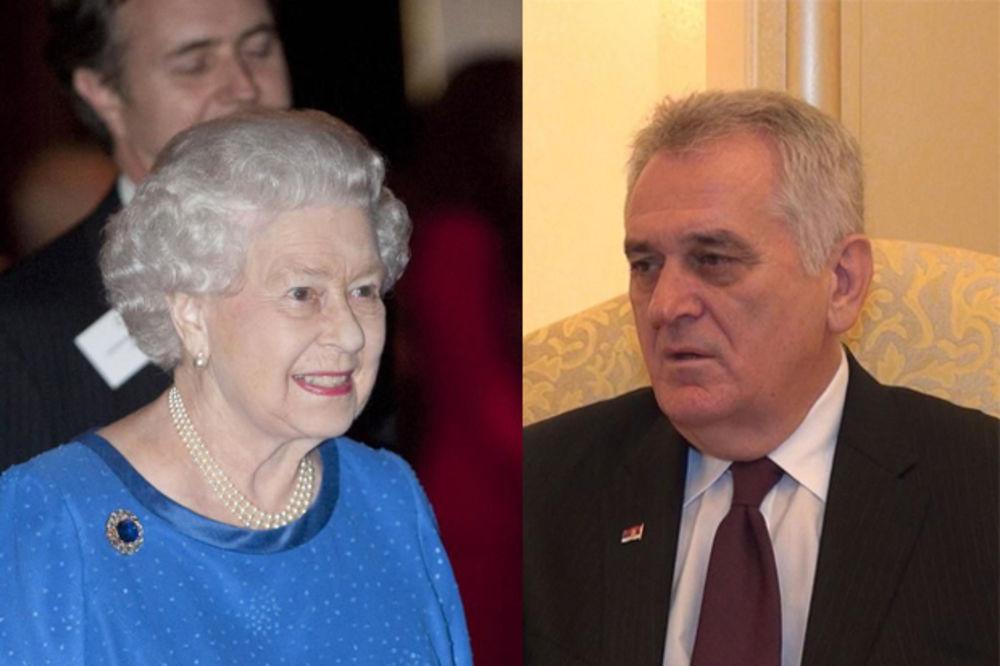 SRBI, SREĆNO! Kraljica Elizabeta II čestitala Nikoliću Dan državnosti