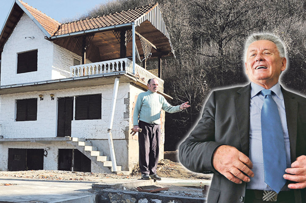 PREVARENA ŽRTVA POPLAVE: Velja Ilić mi srušio kuću, pa se sad pravi blesav