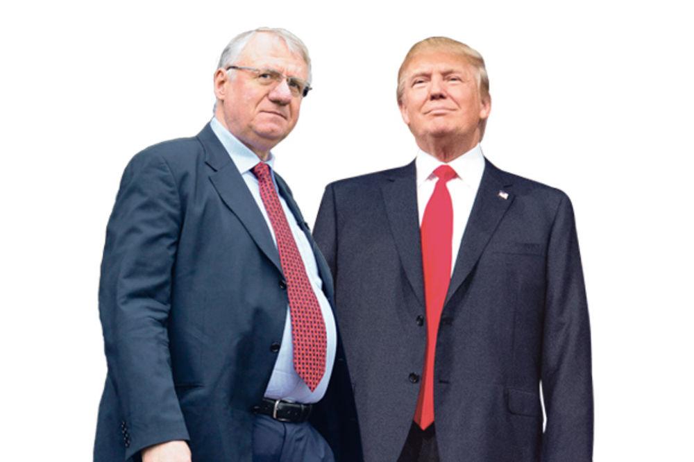 Vojislav Šešelj, Donald Tramp, foto AP,Dado Đilas
