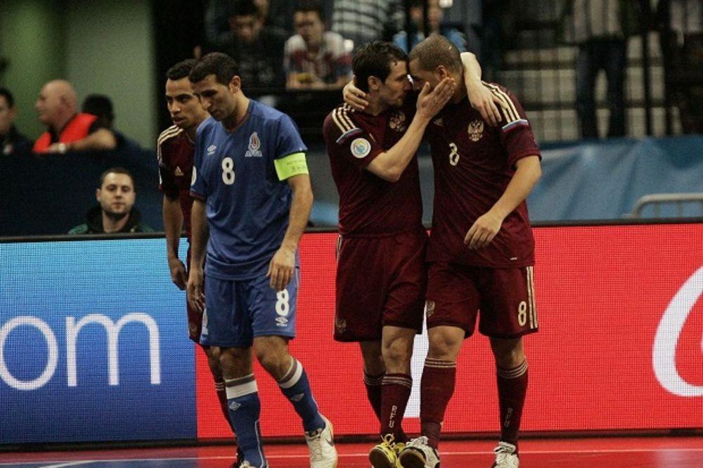 (VIDEO) ORLOVI SA ZBORNAJOM ZA FINALE: Ruski Brazilci bolji od azerbejdžanskih u četvrtfinalu EP