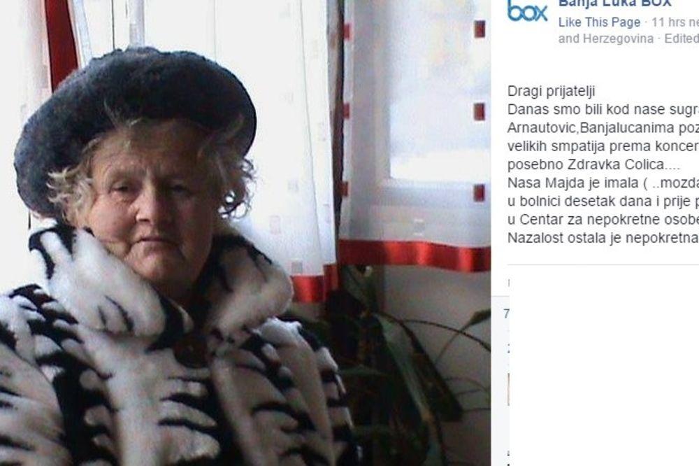 NAJVEĆA ČOLINA OBOŽAVATELJKA OSTALA NEPOKRETNA: Legendarna Majda imala moždani udar