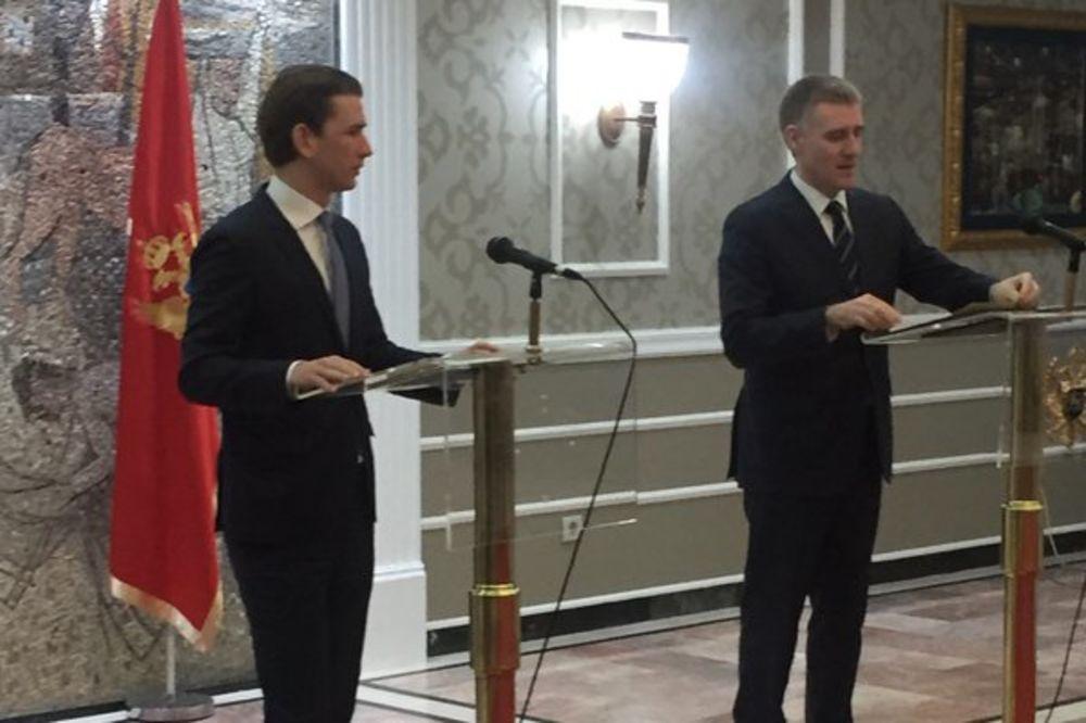 KURC U PODGORICI: I Crna Gora da se spremi za otvaranje izbegličke rute!