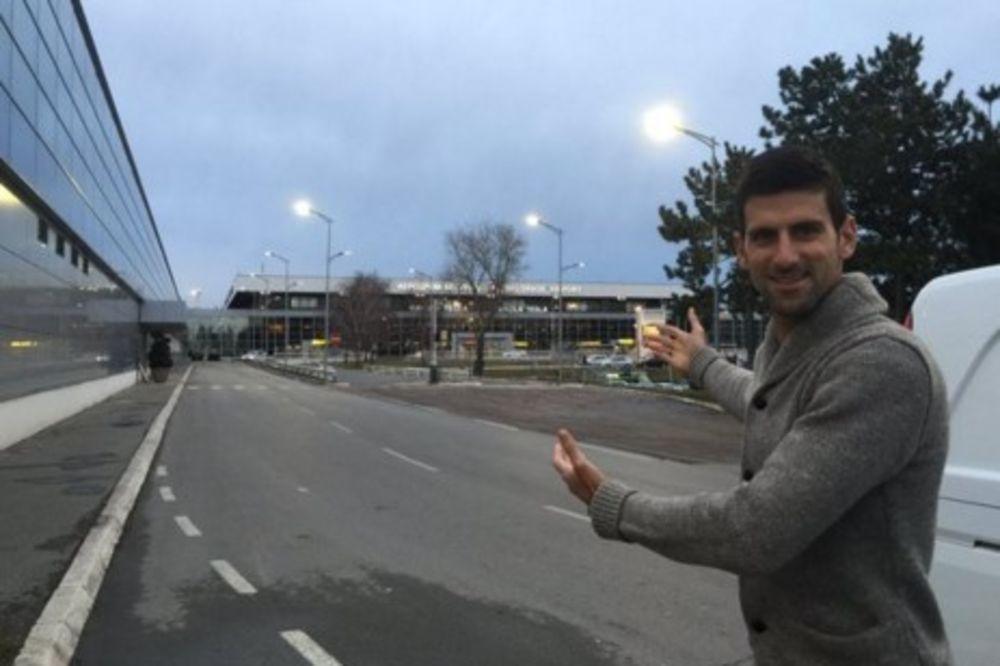 (FOTO) NOVAK STIGAO U SRBIJU: Taj osećaj kad se vratiš u svoju zemlju!