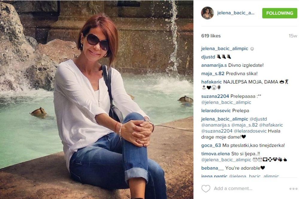(FOTO) MAMINO OGLEDALO: Evo kako izgleda ćerka Jelene Bačić Alimpić