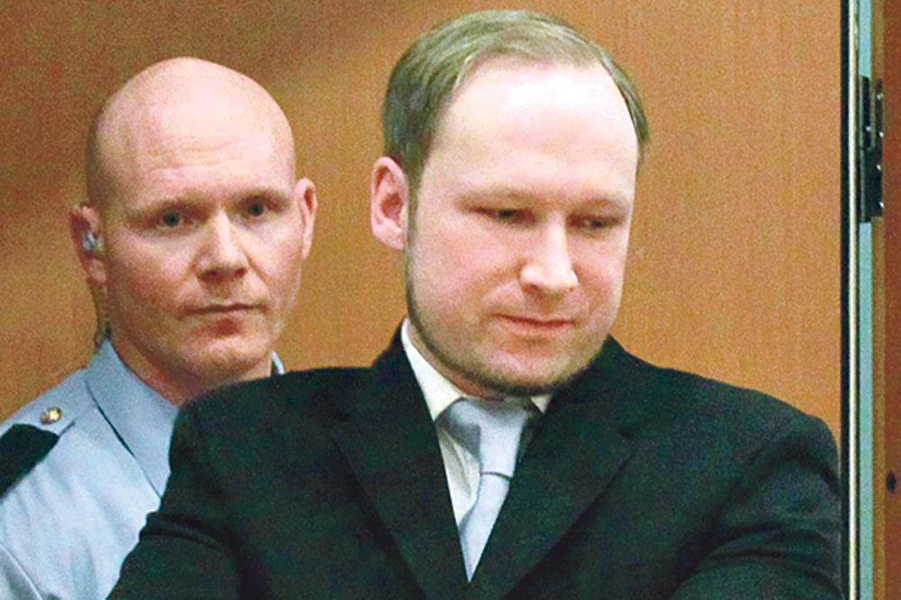 Brejvik tužio Norvešku zbog nehumanih uslova