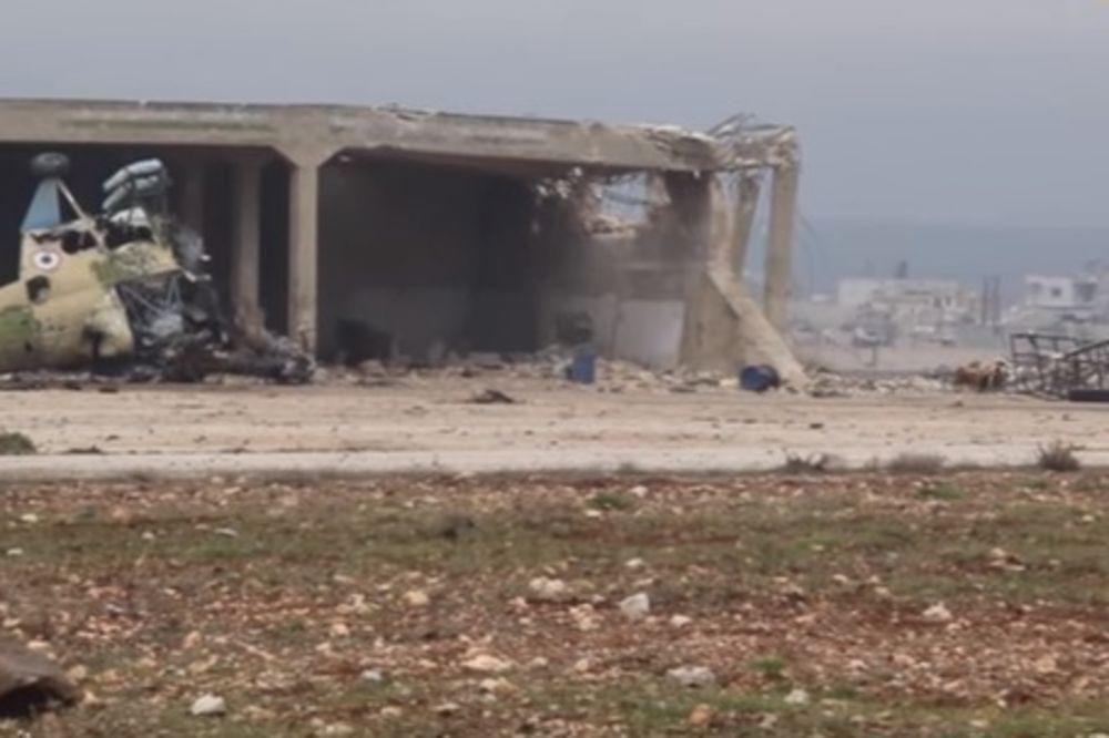 (VIDEO) KURDI POTUKLI POBUNJENIKE: Zauzeli vojni aerodrom u Siriji