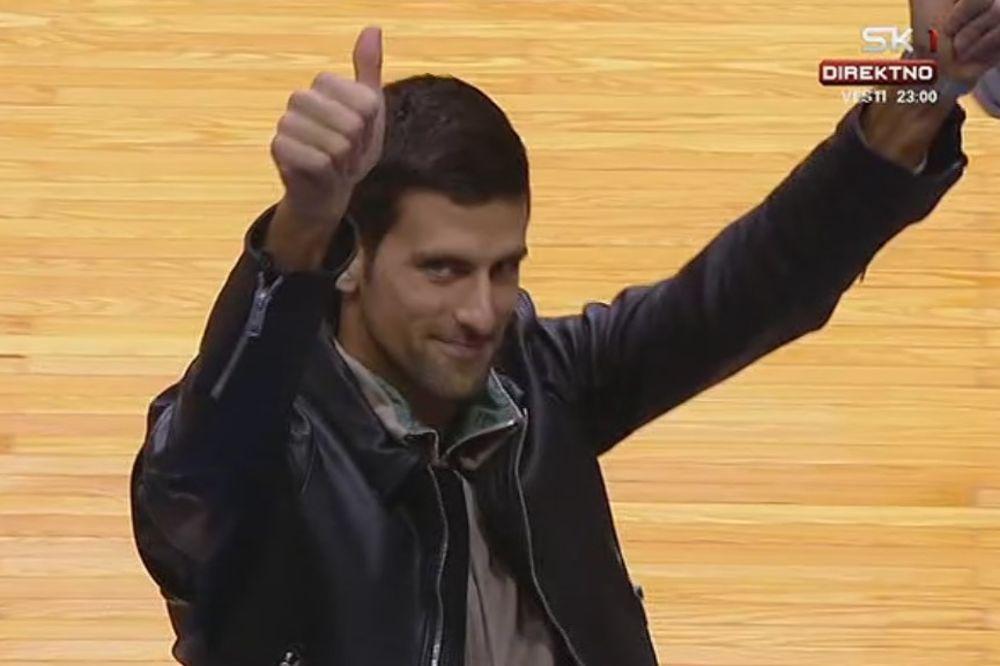 (VIDEO) NOLE JE STIGAO: Pogledajte kako je Pionir pozdravio vladara svetskog tenisa!