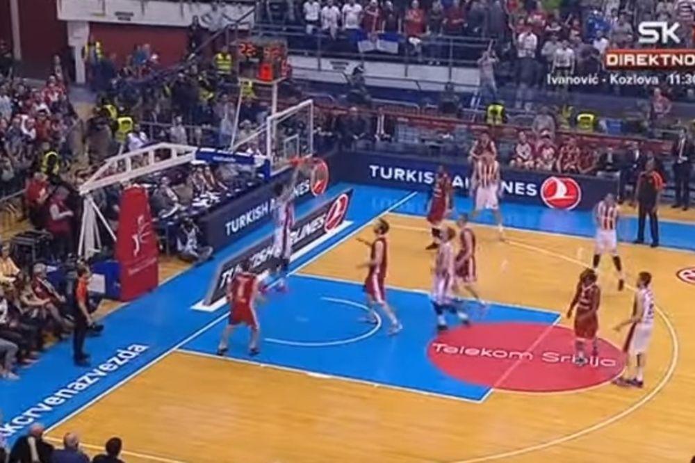(VIDEO) DELIJE U TRANSU: Pogledajte alej-up Micića za Dangubića koji je zakucao Cedevitu!