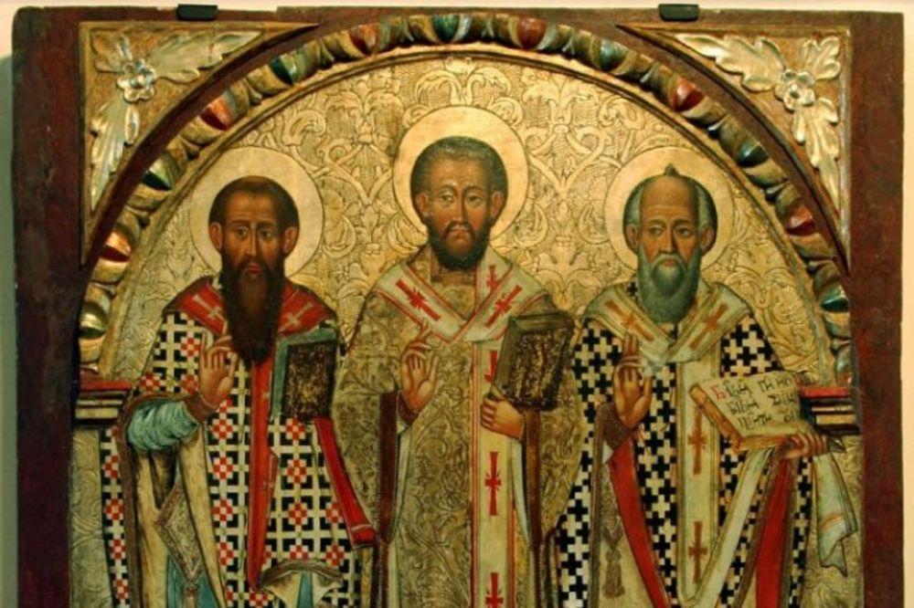 DANAS SU SVETA TRI JERARHA: Spomen na slavne propovednike Jevanđelja