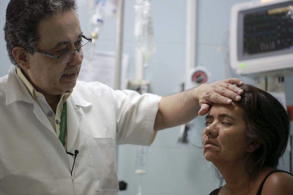 Virus zika, oboleli, lekar, Foto AP