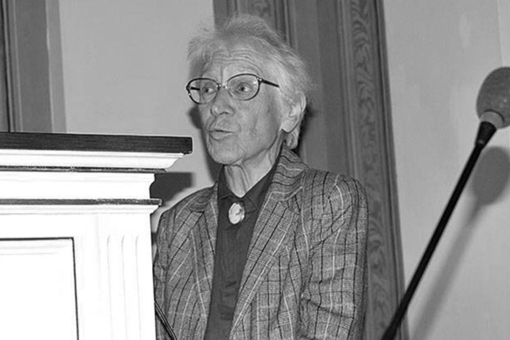 SANU OSTAO BEZ ISTAKNUTE ČLANICE: Preminula akademik Mileva Prvаnović