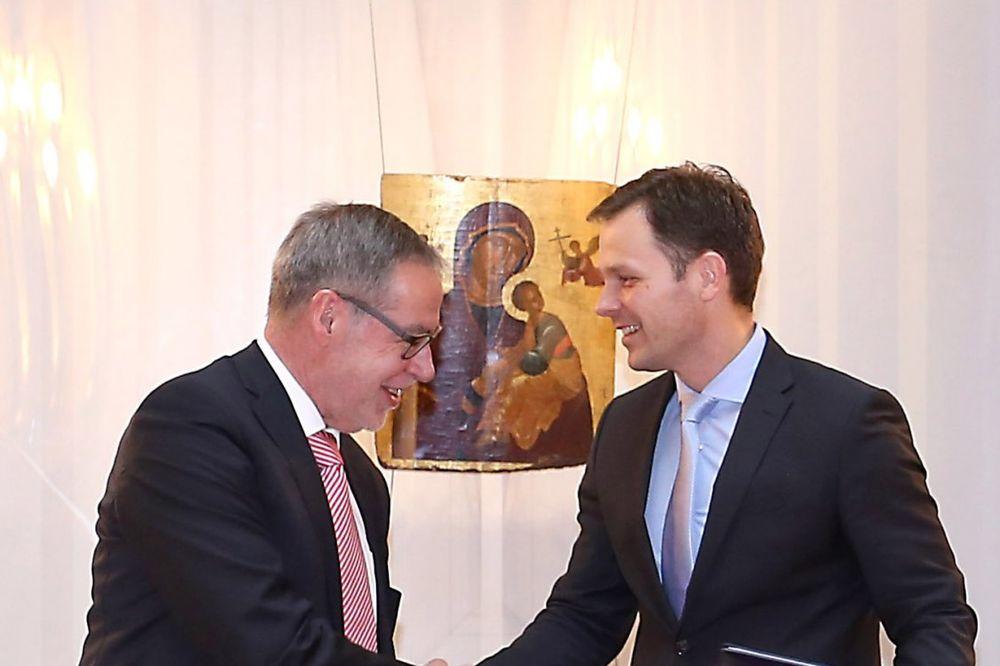 PRIJATELJSTVO BEOGRADA I BERNA: Mali i Čepet potpisali sporazum o saradnji