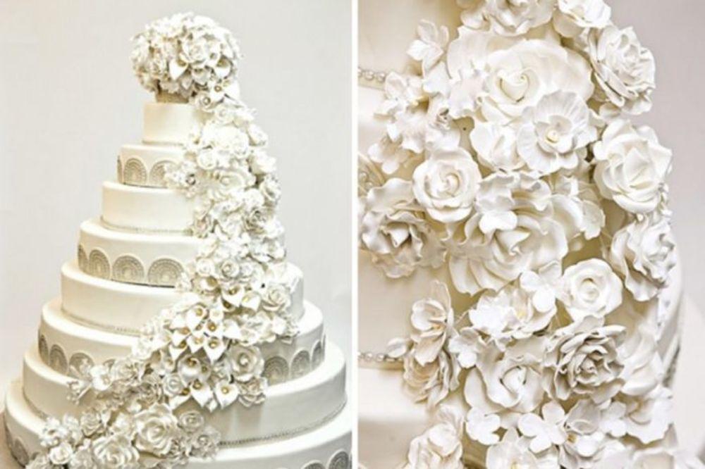 NAJSKUPLJE SVADBENE TORTE SVIH VREMENA: Zbog ovih cena, presešće vam brak i slatkiši!